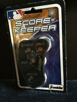 BASEBALL Score Keeper/Strikes/Balls/Outs/innings Hand Counter/Franklin Sports