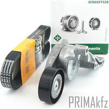 CONTI 6PK1050 Keilrimmen + INA 534015110 Spanner Audi Seat Skoda VW 1.9 2.0 TDI