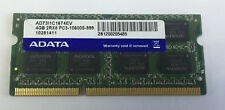 Laptop Memory/Ram ADATA 4GB x1 DDR3-1333 PC3-10600S CL9 AD73I1C1674EV SODIMM 1.5