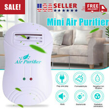 Mini Air Purifier Plastic Negative ion Generator Air Cleaner ionizer For Home US