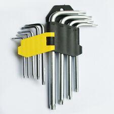 Torx-Schlüssel Satz Torxsatz Schtiftschlüsselsatz Winkelschlüssel 9 tlg.