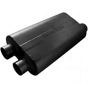 "Flowmaster 530513 50 Series Big Block Chambered Muffler Dual 3"" / Single 3.5"""