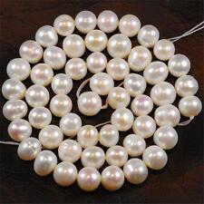 8-9mm White Saltwater Akoya Pearl Loose Beads 15inch