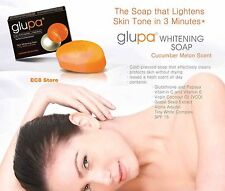 GLUPA Whitening Bar Soap Glutathione & Papaya Cucumber Melon Scent 65g