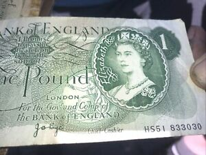 Old Pound Note