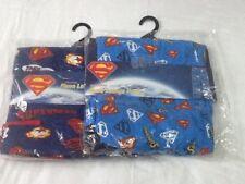 Mens 2 New Large Superman Character Lounge Pants Pyjama Novelty Cartoon Bottoms