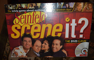 Seinfeld Scene it? DVD Board Game Replacement Parts & Pieces 2008 Mattel