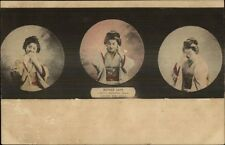 Japanese Mother Says I Must Neither Speak Here Nor See c1910 Postcard