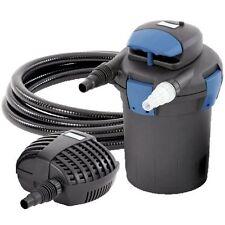 Oase BioPress Set 4000 - Complete Filter and Pump Set for Fish Pond System UV