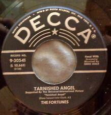 FORTUNES 45 Tarnished angel / Who cares  DECCA  Doowop Kz529