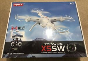 SYMA X5SW 6-Axis Quadcopter Drone, Real Time FPV Video HD Camera, WiFi, Headfree