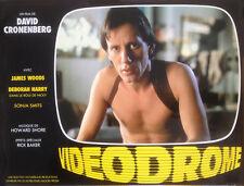 James Woods Videodrome David Cronenberg Original Lobby Card Vintage 1983