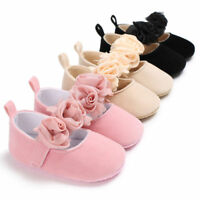 Baby Newborn Toddler Girl Crib Shoes Soft Sole Prewalker Anti-slip Sneakers Hot