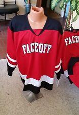 NEW Set of 3 Men's Hockey Jerseys Oversized Men's L Red and Black