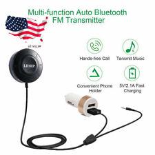 Bluetooth FM Transmitter Car Radio FM Modulator Adapter Kit Wireless MP3 USB USA