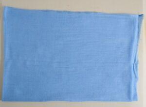 100% Sky Blue Cashmere Shawl Pashmina Scarf Wrap Stole Women Wool Soft Winter 7