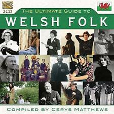 Ultimate Guide To Welsh Folk (Compiled By Cerys Matthews) - Various (NEW 2CD)