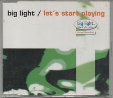 BIG LIGHT -Let's Start Playing- 5 track CD Single