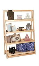 A Frame Wood Display 4 Tier Shelf 42 X 16 X 60 Retail Display Merchandise