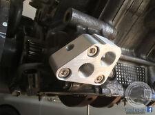 Toyota V8 Billet Oil Filter Adapter Plate -10AN  - Type 2 - Venom Automotive