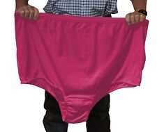 """16: Enormous cotton panties for obese women - fit big stomach and hips to 79"""""""