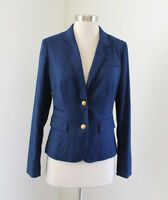 Banana Republic Womens Blue School Boy Style Blazer Jacket Size 2 Career