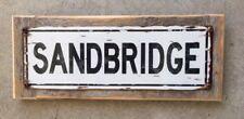 Sandbridge Virginia Beach Outer Banks  Surf Surfing Beach Vintage Metal Sign