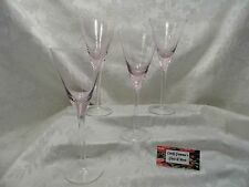 Pink Wine glass set of four