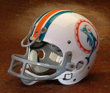 Miami Dolphins style NFL Vintage Suspension Football Helmet - LARRY CSONKA 1972