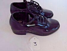 Size 9 Barcla Black Patent Leather Dress Shoes Child Baby Formal Tuxedo Wedding