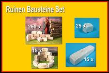 Ruinen Baustein Set, Krippenbau, Modellbausteine, Ruinensteine im Set