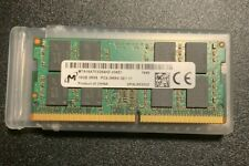 Micron 16GB MTA16ATF2G64HZ-2G6E1 2RX8 PC4-2666V  SO-DIMM DDR4-2666 PC4-21300