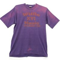 WIFFLE MANIA XVI Mulberry FOTL Vtg Single Stitch Tee T Shirt Sz L USA Purple SS