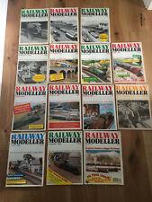 Railway Modeller Magazines x14 1975 - 1996 mostly 1980s