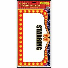 """STARRING""Customizable Theater Marquee Wall Decoration*AWARD*Hollywood*MOVIE*"