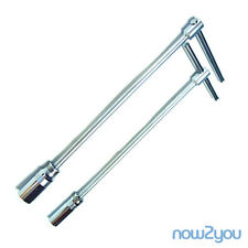 """//NEW GENIUS// SPARK PLUG TOOL SOCKET WRENCH 13/16""""(21MM) REMOVER HANDLE SPANNER"""