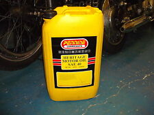 Classic Engine Oil SAE40 monograde 25 litres detergent free Vintage Veteran