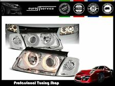 FARI ANTERIORI HEADLIGHTS LPVW25 VW PASSAT B5 3B 1996-1998 1999 2000 ANGEL EYES