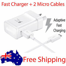 Fast Charger AU USB AC Wall adapter data for samsung s4 S5 S6 S7 edge Note 4 5
