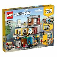 Lego Creator 31097 Townhouse Pet Shop & Cafe 969 Pieces Brand New in Retail Box