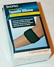 Shopko Maximum Support Tennis Elbow One Size / Adjustable Black