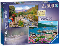 14062 Ravensburger Picturesque Cumbria Jigsaw Puzzle 2x500 Quality Piece Age 10+