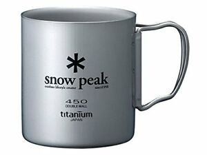 Snow Peak Double Wall 450 Cup One Size