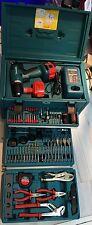 Makita 6271 DWAETC Akkuschrauber + Werkzeug-Satz/ -Set mit Werkzeugkoffer
