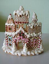 Gingerbread House Tea Light Candle Holder
