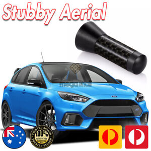 Antenna / Aerial Stubby Bee Sting for Ford RS Focus MK3 MKIII Black Carbon