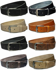 Gürtel echt Leder Jeansgürtel Ledergürtel Vollleder 4 cm leather Belt Vascavi