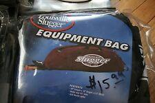 Louisville Slugger Baseball Softball Equipment bag New package black 2 bats
