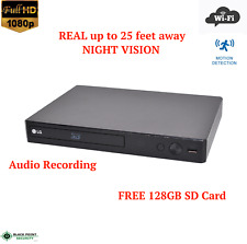 Full HD WIFI Wireless Night Vision DVD Player Spy Hidden Nanny Camera Audio