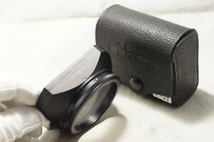 "Asahi Pentax Metal Hood for Takumar 28mm F3.5 w/Case ""Good"" [P-29]"